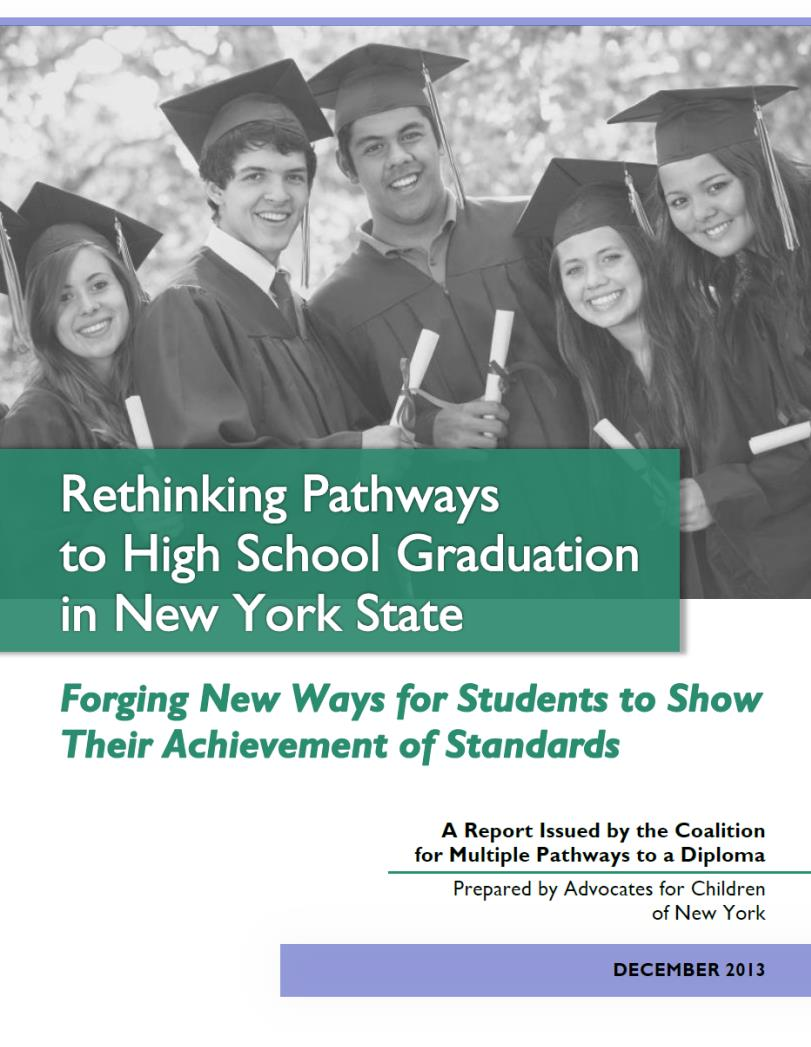 Rethinking Pathways to Graduation report cover