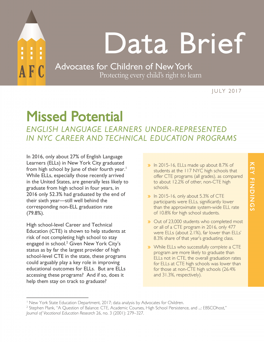 page 1 of data brief