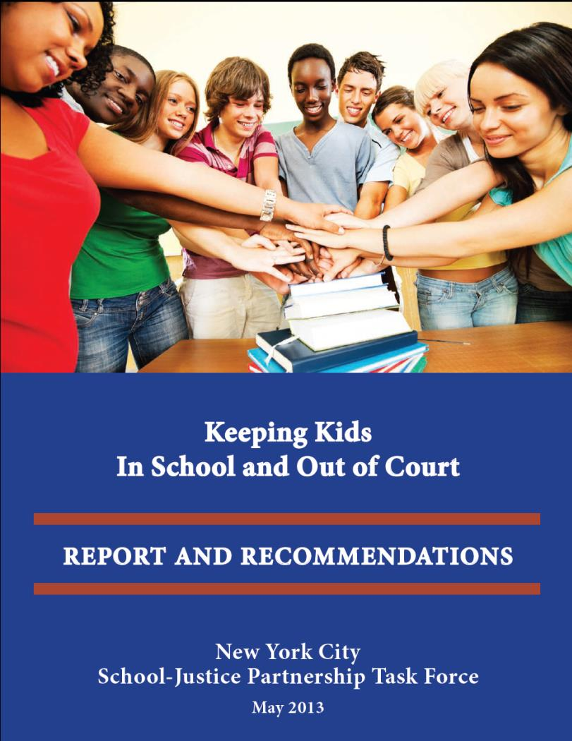 Keeping Kids in School and Out of Court report cover